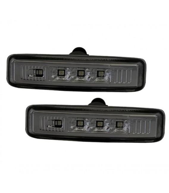 Par de intermitentes laterales de leds ahumados Bmw E39 intermitencias ahumadas