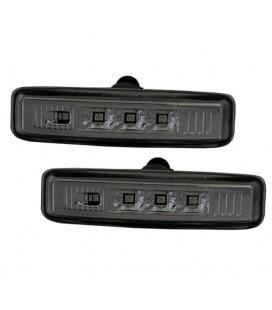 Par de intermitentes laterales de leds ahumados Bmw E39 intermitencias negras