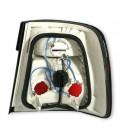 Par de faros pilotos traseros Bmw M5 E34 Berlina ópticas intermitente blanco