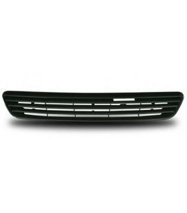 Parrilla de calandra frontal Opel Astra G + modelos Bertone rejilla delantera sin logo central negra