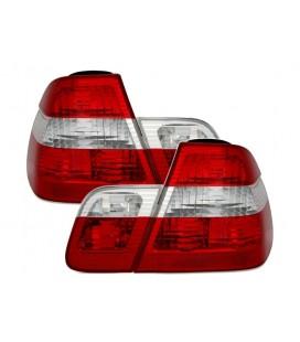 Set de ópticas traseras led de Bmw E46 Sedan 98-01 con look restyling