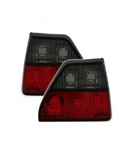 Par de pilotos traseros VW Golf MkII mk2 focos rojo ahumado