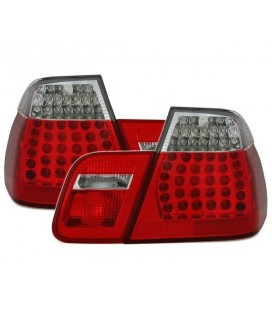 Pilotos traseros led para Bmw E46 Berlina 01-05 intermitente blanca