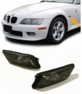 Set dos intermitentes laterales negros ahumados para Bmw Z3