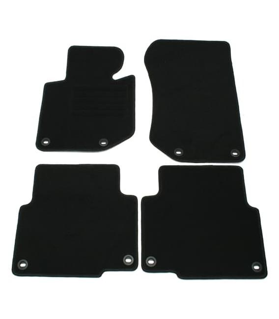 Alfombrillas Velour Bmw E36 serie 3 Coupe 90-99 Juego de alfombras - kit de 4 piezas