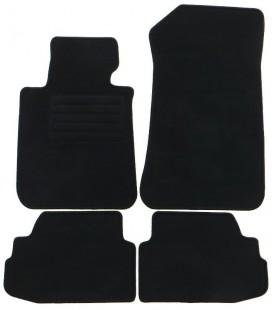 Set de alfombrillas para Bmw Serie 1 E82 Coupe alfombras velour negras esterillas