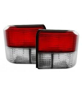 Par de focos pilotos traseros Volkswagen T4 ópticas traseras rojo blanco VW