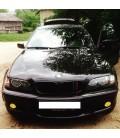 Juego de faros antiniebla amarillos para Bmw E46 Cabrio Pack M y M3