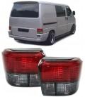 Par de focos pilotos traseros Volkswagen T4 ópticas traseras rojo ahumado VW