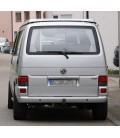 Par de focos pilotos traseros Volkswagen T4 Multivan ópticas traseras rojo ahumado VW