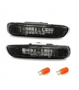 Par de intermitentes laterales ahumados klarglas para Bmw E46 intermitencias de aleta