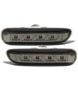 Par de intermitentes laterales de leds ahumados Bmw E46 intermitencias de aleta ahumadas
