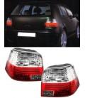 Par de pilotos traseros VW Golf MkIV mk4 focos rojo blanco